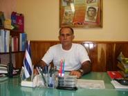 Licenciado Roberto López, director de la Planta de Alcohol, en Amancio. Foto: Rafael Aparicio Coello